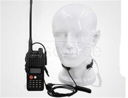 Intercom throat mic headset throat vibration control air duct PPT tactical headset finger ride special field A vibration voice sounds clear throat