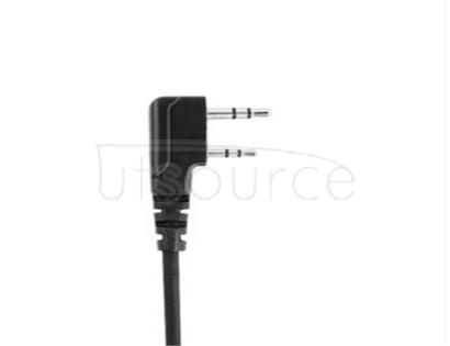 Bao feng walkie-talkie headset thick thread headsets in-ear universal K M head single-hole Y ears hanging head
