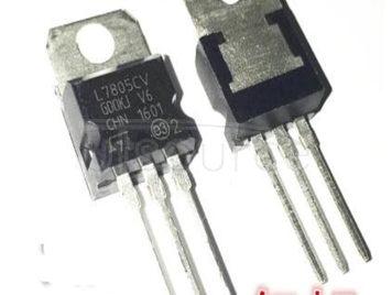 ST L7805CV upright triode three-terminal voltage regulator L7805 5 v and 24 v 5 v, 12 v to 5 v reduction drop 9 v to 5 v 30 v to 5 v
