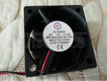 Cooling fan 5 cm 5020 CPU fan oil/bearing 12 v,