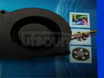 Fan (fan) 7530 oil/bearing is three lines, 24 v