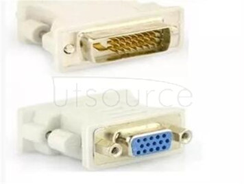 Mother DVI24 + 1 revolution of VGA plastic connector computer tieline graphics display interface adapter plugs