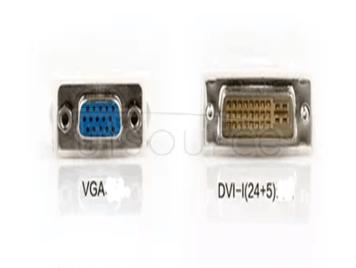 DVI to VGA 24 + 5 needles DVI revolution of VGA mother computer graphics display hd video conversion connector