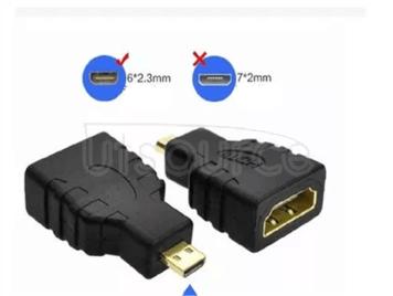 Miniature MicroHDMI turn HDMI standard cell phone mirco - HDMI turn HDMI connector miniature standard