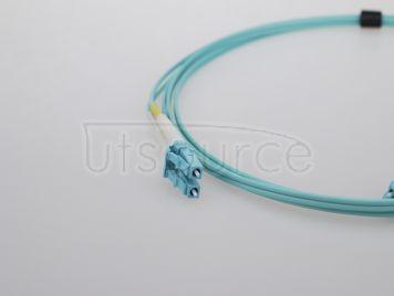 2m (7ft) LC UPC to SC UPC Simplex 2.0mm PVC(OFNR) OM3 Multimode Fiber Optic Patch Cable
