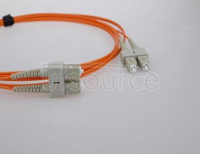 1m (3ft) SC UPC to ST UPC Duplex 2.0mm PVC(OFNR) OM1 Multimode Fiber Optic Patch Cable