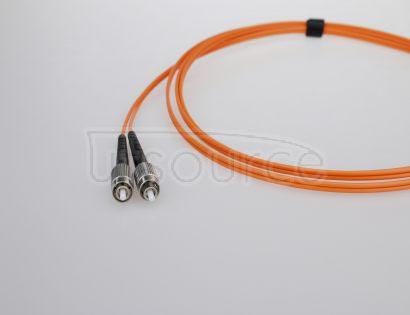3m (10ft) LC UPC to FC UPC Simplex 2.0mm PVC(OFNR) OM1 Multimode Fiber Optic Patch Cable