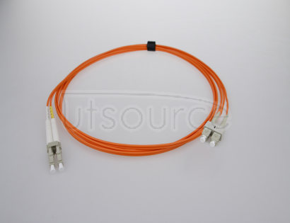 10m (33ft) LC UPC to SC UPC Duplex 2.0mm PVC(OFNR) OM1 Multimode Fiber Optic Patch Cable 62.5/125um fiber designed for Fast Ethernet, Gigabit Ethernet and Fiber Channel application