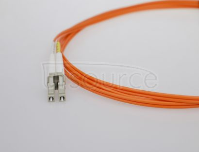 2m (7ft) LC UPC to ST UPC Duplex 2.0mm PVC(OFNR) OM1 Multimode Fiber Optic Patch Cable