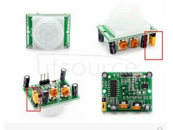 SR501 human body infrared sensing module pyroelectric infrared sensor probe imports