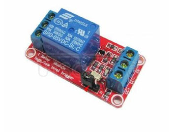 1 road relay module with optical coupling isolation support high and low level trigger 5 v relay all the way to expand board