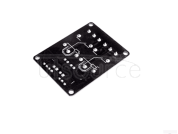 . l Two-way relay module 5 v belt light decoupling protection relay expansion board MCU development board accessories