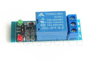 The new 1 road relay module 5 v low level trigger relay expansion board