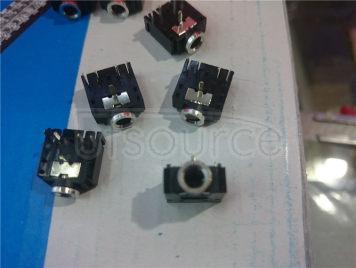 A socket 3.5 MM headphone socket audio video mother 3.5 dual channel stereo < 5 PCS)