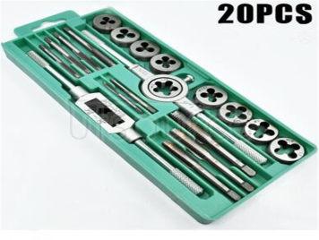 20 woolly tap die set set screw tap tap die set silking tools hinge hand combination