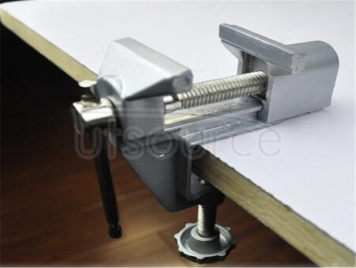 Universal vice aluminum alloy vise work vise rotate 360 degrees parallel-jaw vice