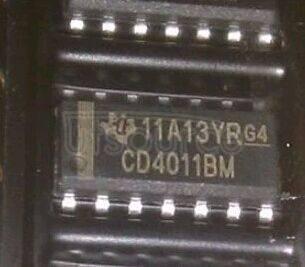 CD4011BM IC GATE NAND 4CH 2-INP 14-SOIC