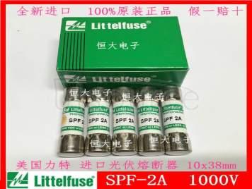 littelfuse SPF 2A 1000V 10*38