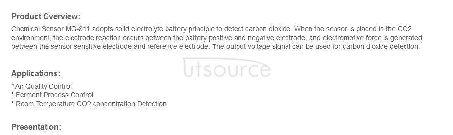 MG811 Solid Electrolyte CO2 Gas Sensor