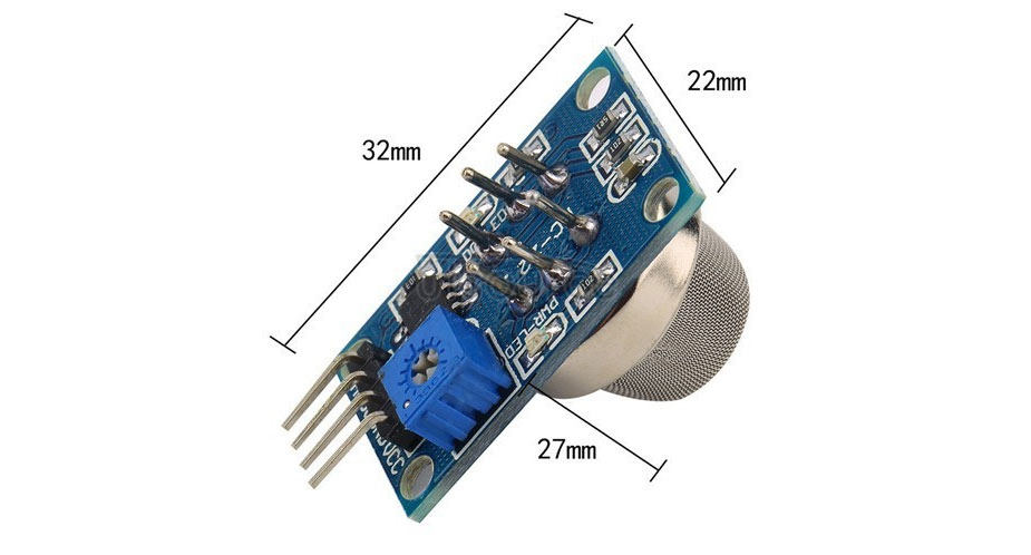 MQ-135 Air Quality Detection Module for Harmful Gas