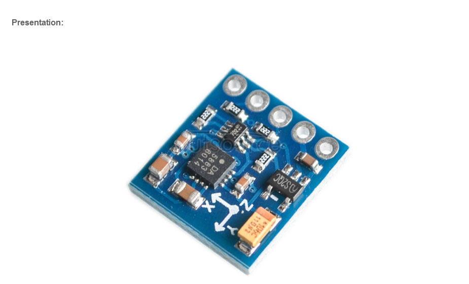 GY-271 QMC5883L Digital Compass Module 3-Axis Magnetic Sensor Module