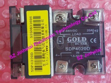 New and original SDP4020D GOLD DC-DC Solid state relay SSR 3.5-32VDC, 12-480VDC 20A