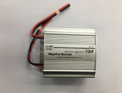 SUVPR 10A 24V-12V converter A buck is an electronic device that converts 15 - 32v DC to 12v other DC below the input voltage.  It only acts to reduce the DC voltage in the circuit without changing other properties of the original DC power supply.