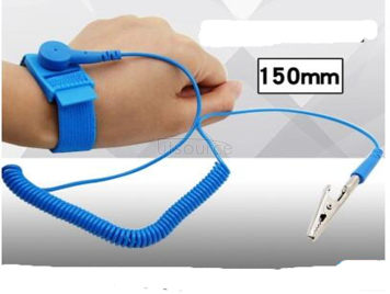 Cable antistatic bracelet The human body esd bracelet Anti-static wrist with a line of electronic appliance with ring anti-static wrist flexibility protective grounding line upgrade human work The big