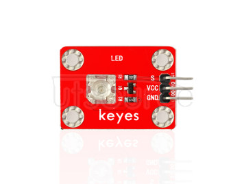 keyes Pirhana LED Green Light Module (with soldering pad-hole)