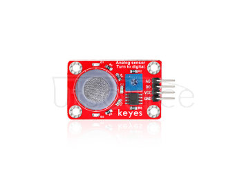 keyes MQ-7 Carbon Monoxide Sensor (with soldering pad-hole)