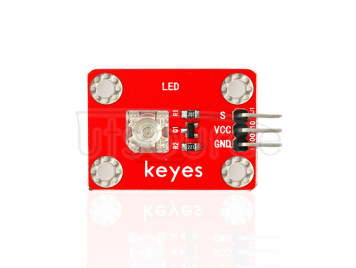 keyes Pirhana LED Yellow Light Module (with soldering pad-hole)