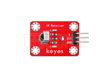 keyes IR Receiver Sensor  (with soldering pad-hole)