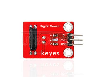 keyes Vibration Sensor (with soldering pad-hole)