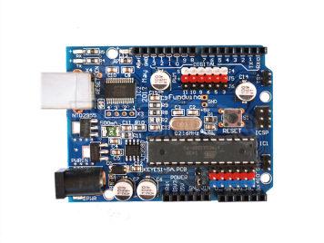 Super 328p Development Board 3.3 V level shifter for Arduino (USB line is free)