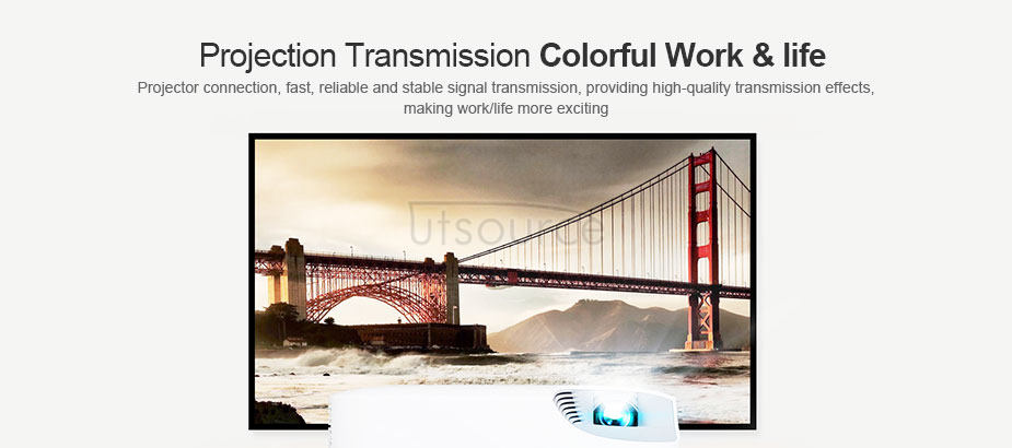 UTOPTICAL  HDMI Fiber Cable 66 feet Light High Speed Support 18.2 Gbps 4K at 60Hz HDMI 2.0 ,  Flexible With Optic Technology 20m