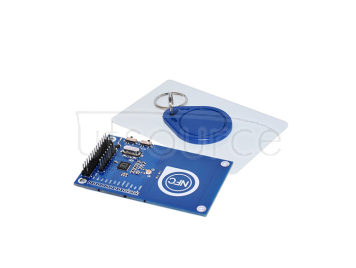 Arduino NFC card reader module PN532 kit compatible with raspberry pie containing white board and Keychain