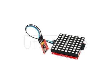 ?FR4 8 x 8 RGB Drive Board + FTDI Board + 6Pin Dupont Cable Set