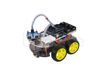 New product advanced intelligent car tracing obstacle avoidance and control of the four one car based on ARDUINO