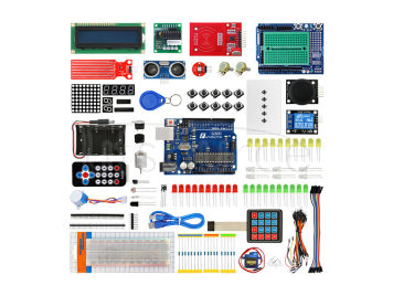 Funduino Development Board Kit for Arduino UNO R3 - Multicolored