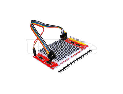 16 x 16 LED Dot-Matrix w/ Dupont Cables / Pin Headers for Arduino?