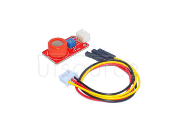 Arduino MQ-3 alcohol sensor/ red, with white terminals