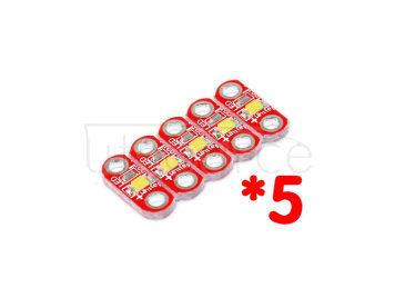 LilyPad LED module/ quintuplet