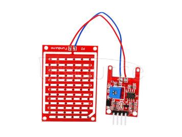 Arduimo Raindrop Humidity Test Sensor Module - Red