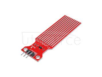 Water Sensor Module for Arduino Moisture / Drop / Depth of Water Test - Red