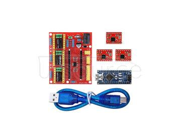 KEYES V4 Engraving Machine Expansion Board + Stepper Motor Drive Set for Arduino