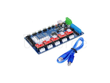 KEYES 3D printer control board MKS Gen V1.2(with USB line, equipped with A4988 with cooling fin)
