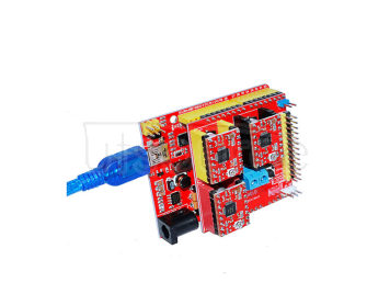 3D Kit (3DV2+ red UNO+three pieces of 4988+30CM transparent blue USB line)
