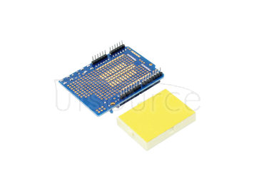 ProtoShield prototype expansion board with mini bread board based ARDUINO