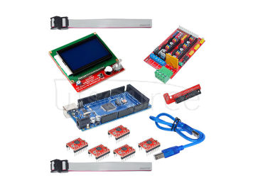 3D printer kit 3D 12864 screen 1.4+4988 +RAMPS driver +2560R3 master
