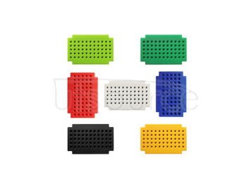 ZY-55 solderlss mini breadboard/PCB circuit board/solderless test board(seven color suite)